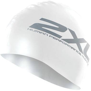 Bonnet de Natation 2XU SILICONE Blanc 2021